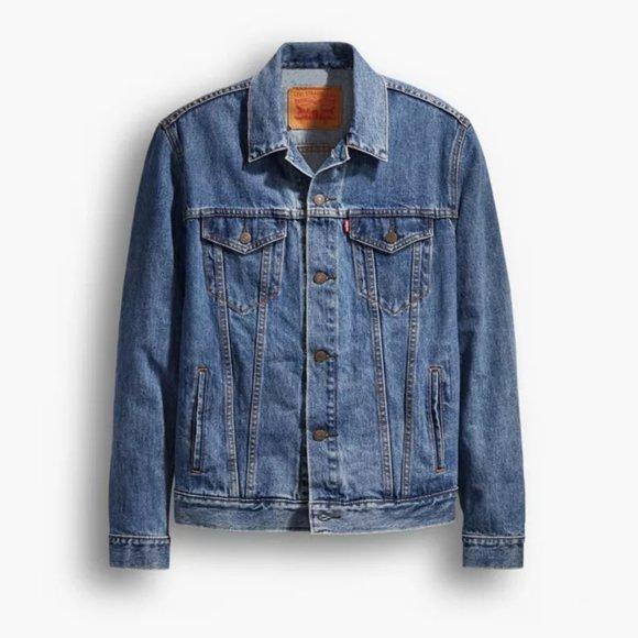 Levi's Trucker Jacket (Medium Stonewash)
